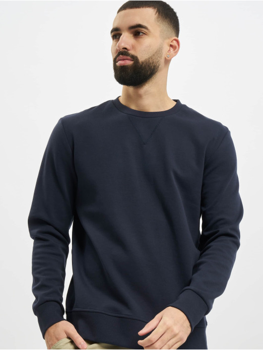Jack & Jones Swetry jjeBasic Noos niebieski