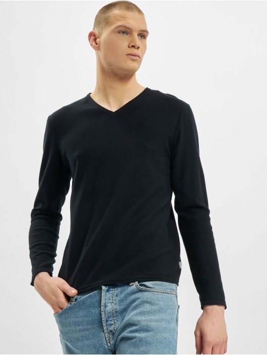 Jack & Jones Swetry jjThorn Knit niebieski