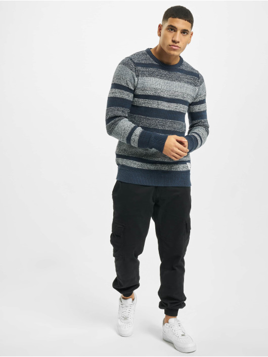 Jack & Jones Swetry jj30Marlon niebieski
