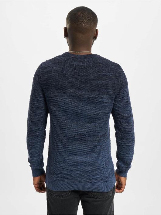 Jack & Jones Swetry Jjethomas Knit niebieski