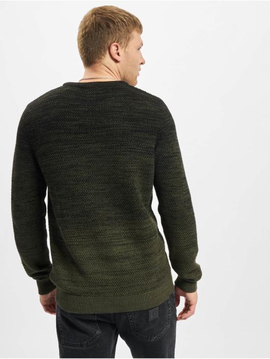 Jack & Jones Swetry Jjethomas Knit zielony