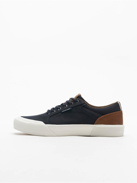 Jack & Jones Tøysko jfwThai Canvas Pu Mix blå