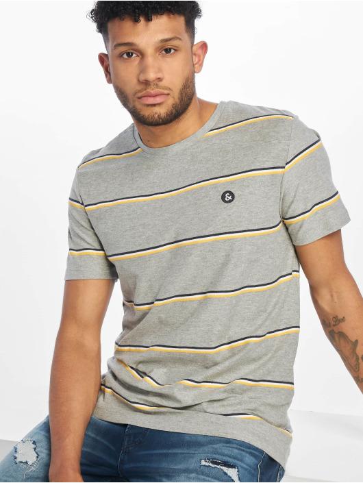 Jack & Jones T-paidat jorHerringbone harmaa