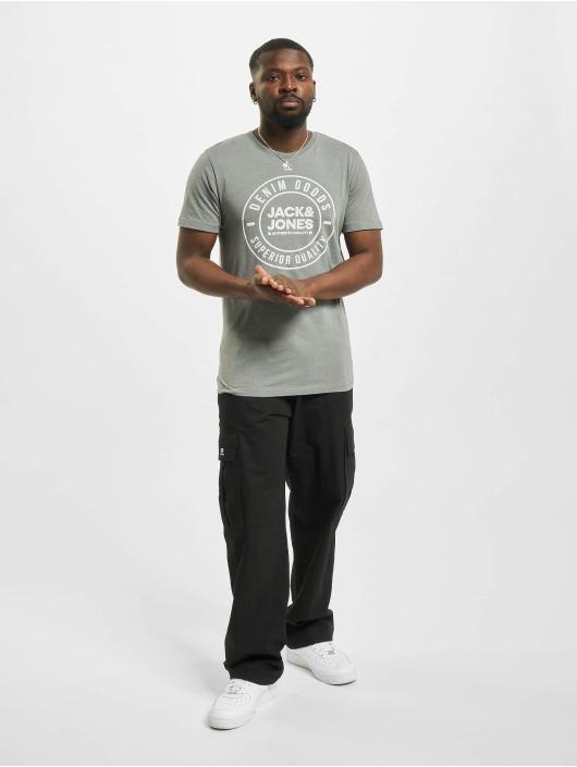 Jack & Jones T-paidat jjeJeans Noo harmaa