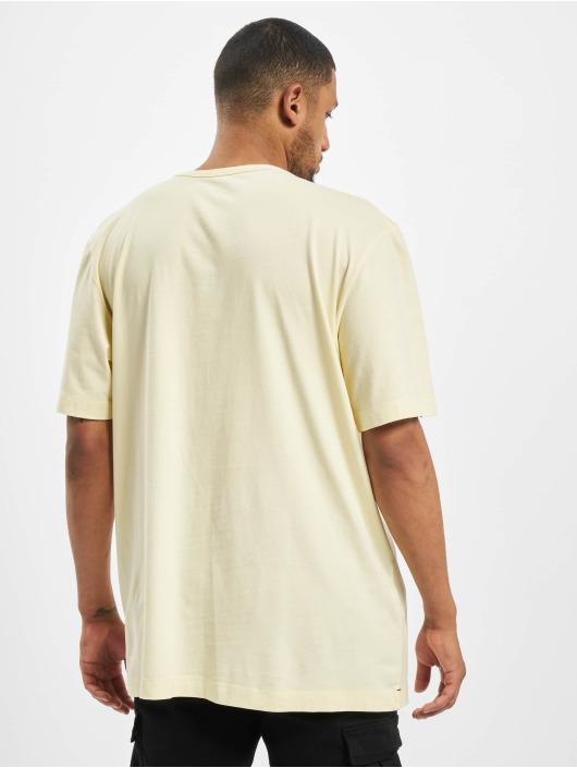 Jack & Jones T-paidat jjeJeans Wash Camp keltainen