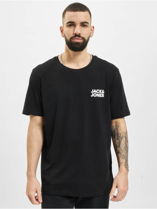 Jack & Jones T-paidat Jjecorp Logo O-Neck 3-Pack musta