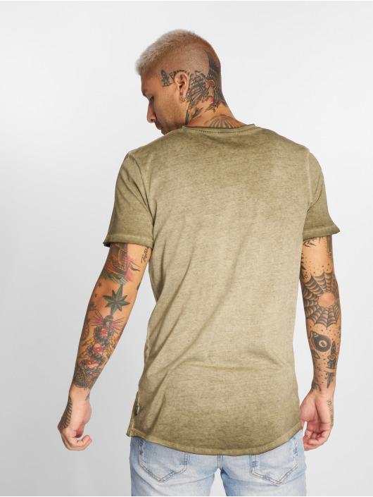 Jack & Jones T-paidat jorJack Crew Neck oliivi