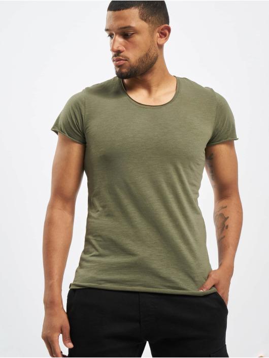 Jack & Jones T-paidat jjeBas Noos oliivi