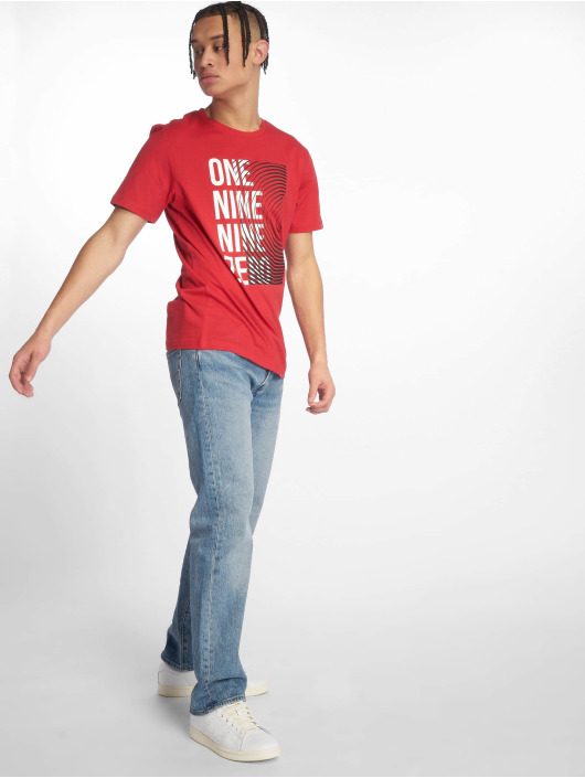 Jack & Jones T-paidat jcoBooster punainen