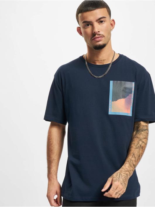 Jack & Jones T-paidat Jorinfinitys sininen