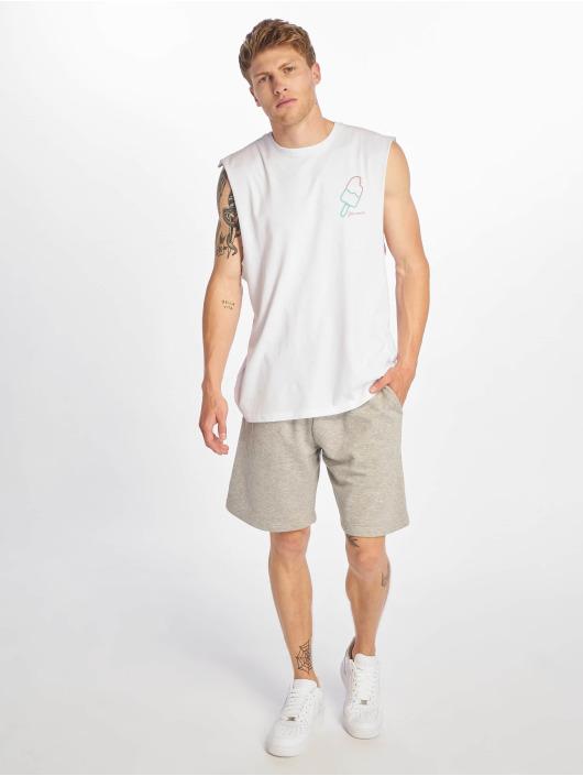 Jack & Jones T-paidat JorNeon Muscle valkoinen