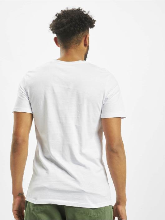 Jack & Jones T-paidat Jorfaster Crew Neck Originals Print valkoinen