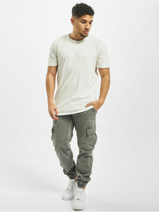 Jack & Jones T-paidat jjeAsher O-Neck Noos valkoinen