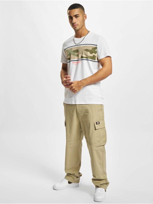 Jack & Jones T-paidat Jjsoldier valkoinen