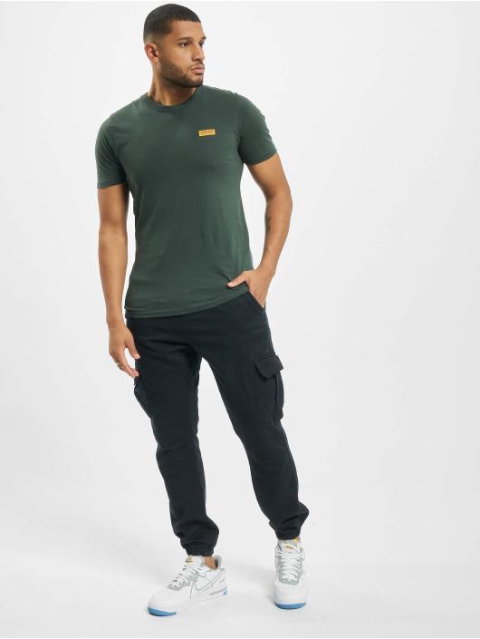 Jack & Jones T-paidat jcoSignal vihreä