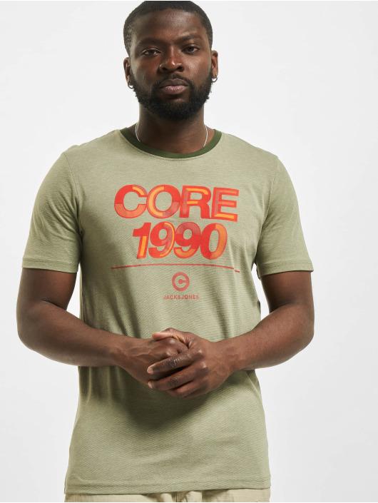 Jack & Jones T-paidat jcoBerg Turk vihreä