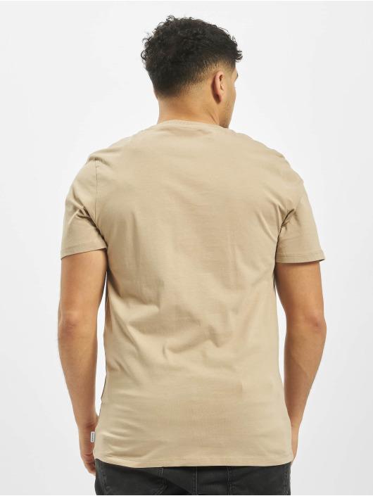 Jack & Jones T-Shirt jjePocket O-Neck Noos beige