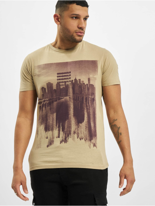 Jack & Jones T-Shirt jorBossa beige