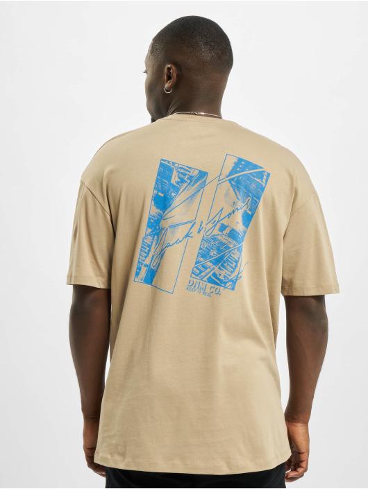 Jack & Jones T-Shirt jorWritting beige