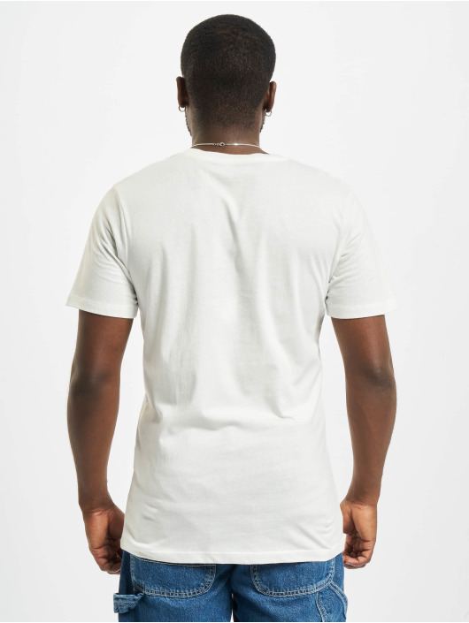 Jack & Jones T-shirt Jjejeans O-Neck bianco