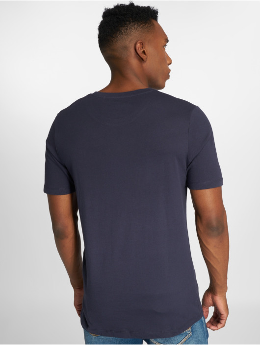 Jack & Jones T-shirt jjeJeans Print blå
