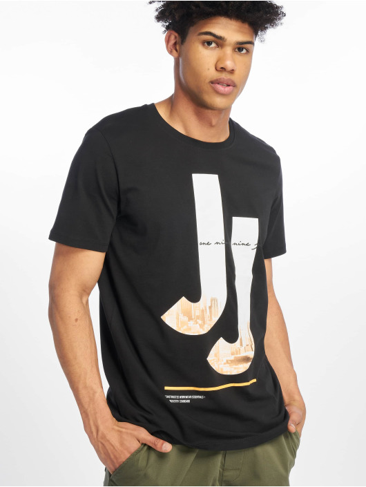 Jack & Jones T-Shirt jcoSpring-Feel black