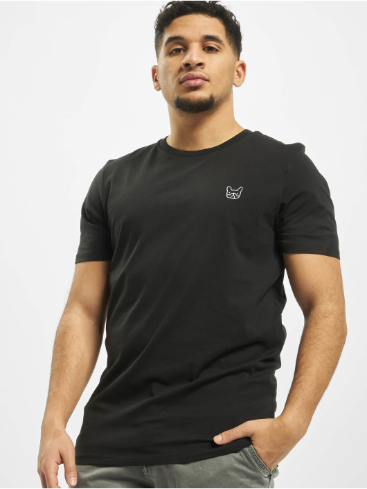 Jack & Jones T-Shirt jjeDenim Logo O-Neck Noos black