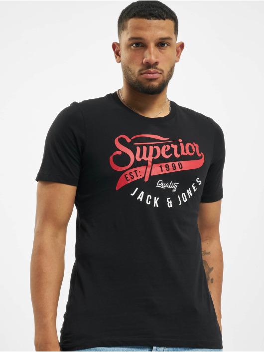 Jack & Jones T-Shirt jjeLogo Noos black