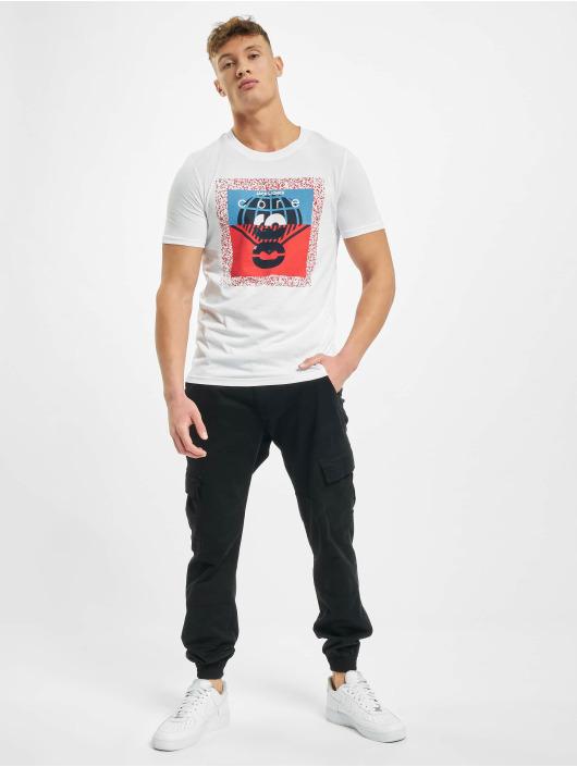 Jack & Jones T-Shirt jcoSplatter blanc