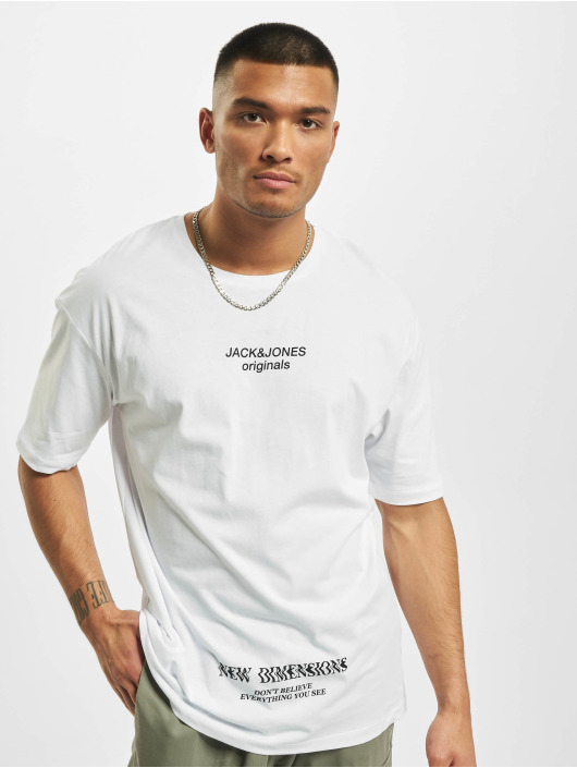 Jack & Jones T-Shirt jorTash blanc