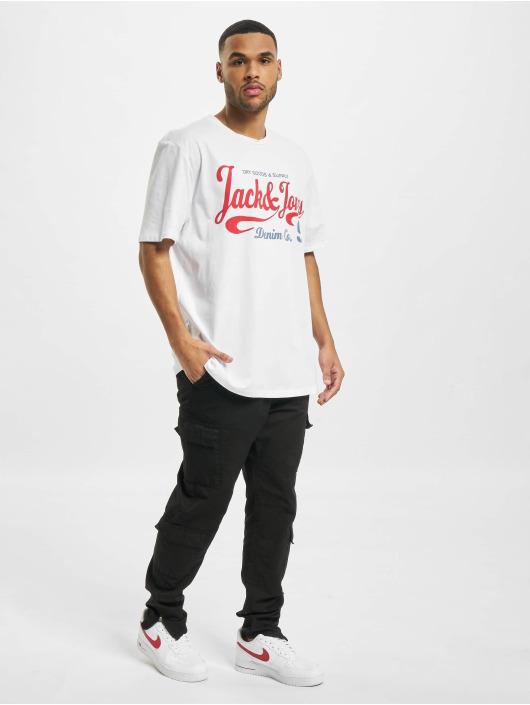 Jack & Jones T-Shirt jjMoon blanc