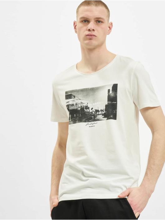 Jack & Jones T-Shirt jorNobody blanc