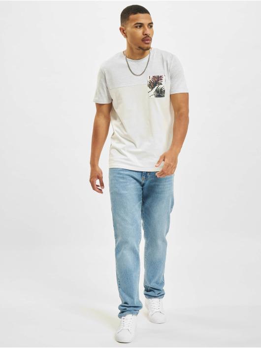 Jack & Jones T-Shirt Jorhazy Pocket Crew Neck blanc