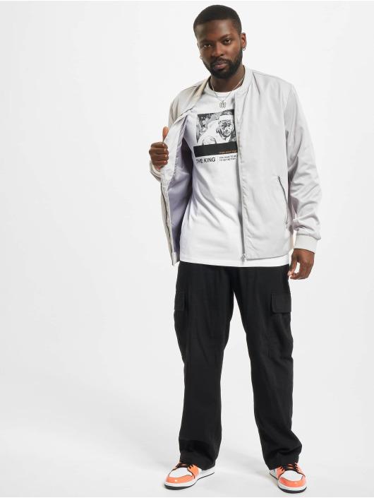 Jack & Jones T-Shirt Jcolegends Statement Crew Neck blanc