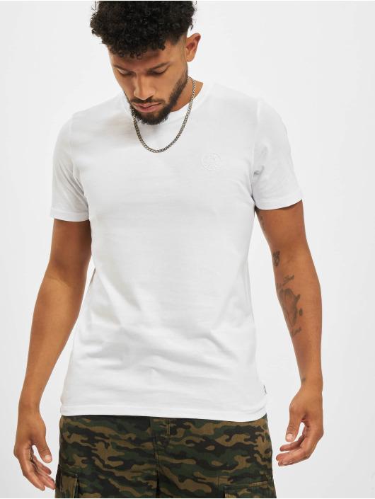 Jack & Jones T-Shirt Jjeorganic O-Neck blanc