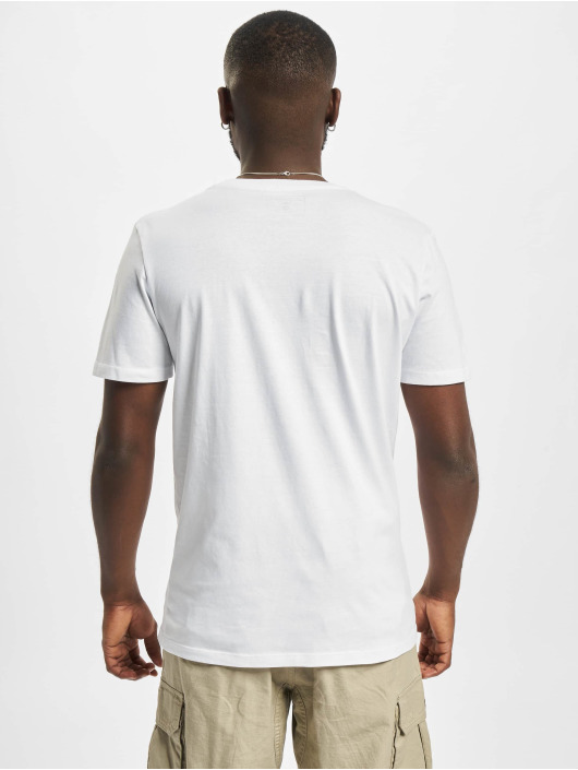 Jack & Jones T-Shirt Jcobilo Crew Neck blanc