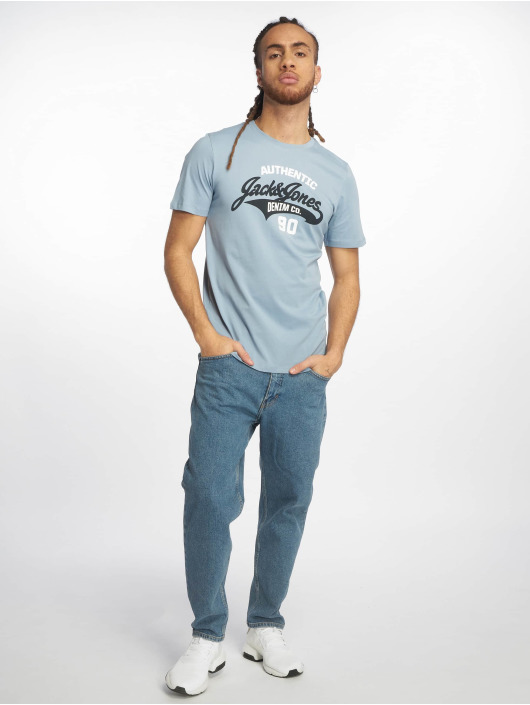 Jack & Jones T-Shirt jjeLogo blau