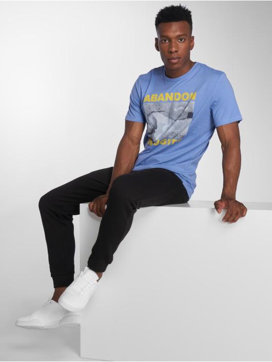 Jack & Jones T-Shirt Jorzeal blau