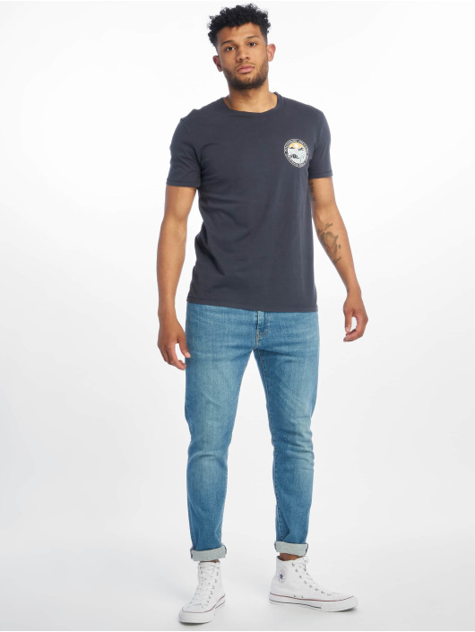 Jack & Jones T-Shirt jorSurfsoul blau