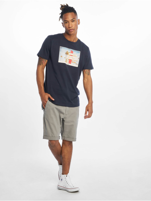 Jack & Jones T-Shirt jorHotel blau