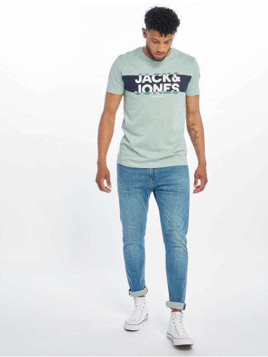 Jack & Jones T-Shirt jcoHenry blau