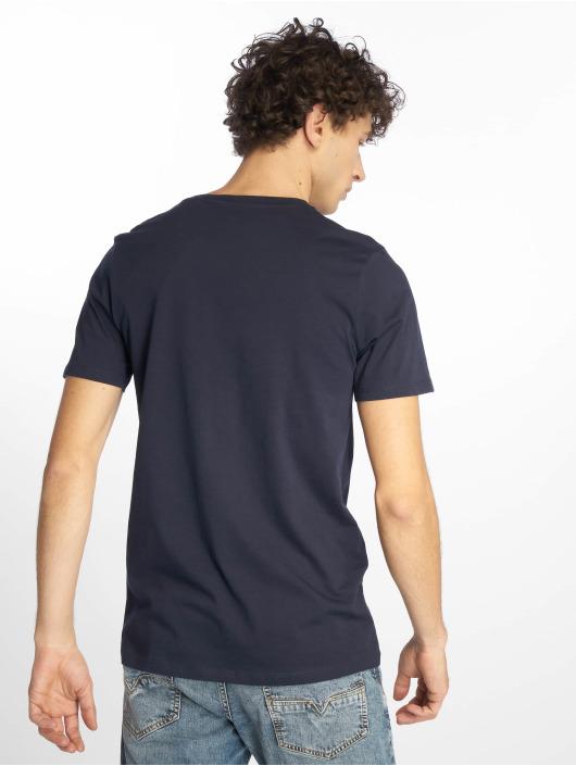 Jack & Jones T-Shirt jjeCorp Neck Noos blau