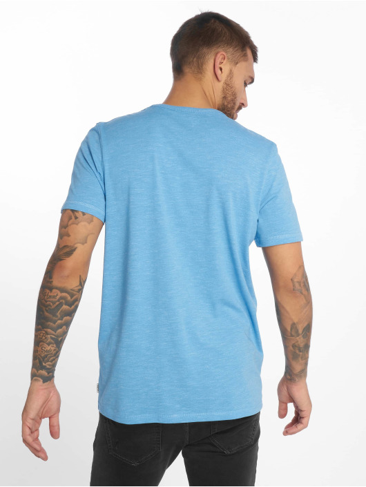 Jack & Jones T-Shirt jcoMario blau