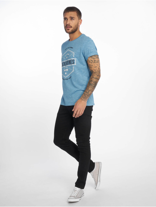 Jack & Jones T-Shirt jcoFresco blau