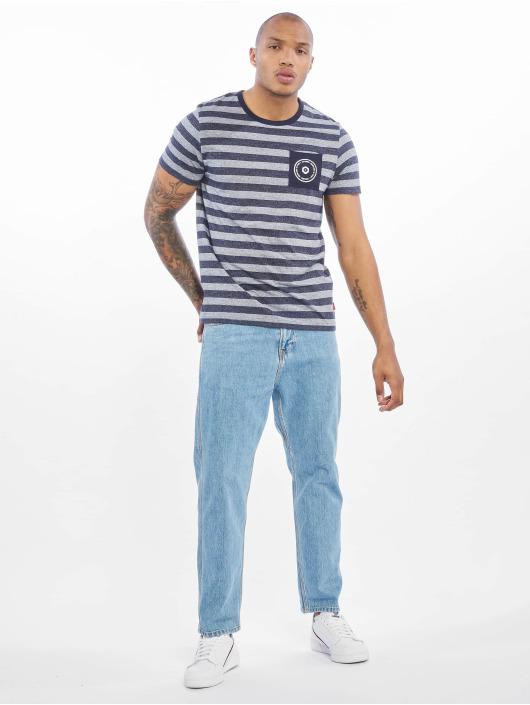 Jack & Jones T-Shirt jcoDenny blau