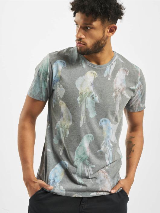 Jack & Jones T-Shirt Jorroppe Tee Ss Crew Neck blau