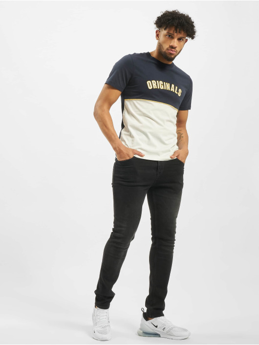 Jack & Jones T-Shirt jorFilo blau