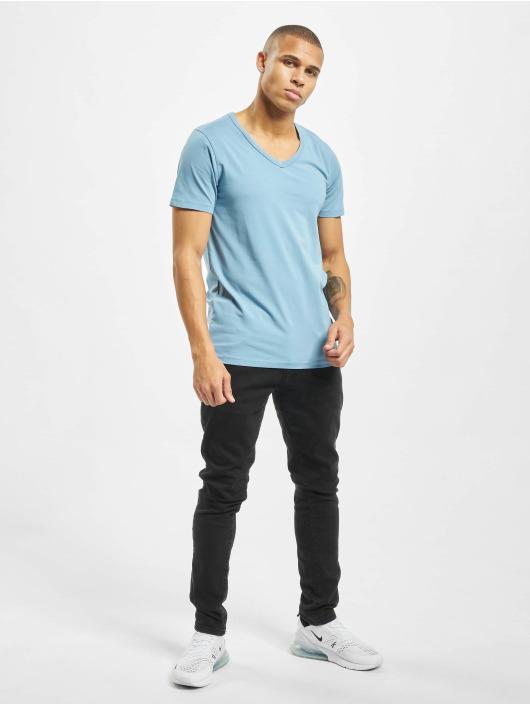 Jack & Jones T-Shirt jjeBasic blau