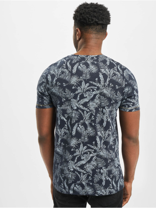 Jack & Jones T-Shirt jorElron Organic Crew Neck blau