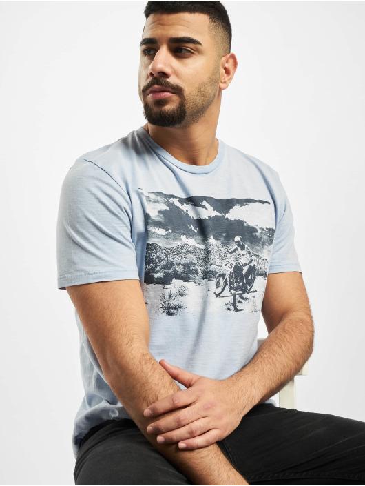 Jack & Jones T-Shirt jprTrenton blau